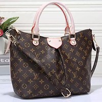 LV Bag Women Shopping Leather Tote Louis Vuitton Crossbody Bag Satchel Shoulder Bag