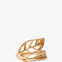 Leaf & Feather Ring