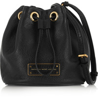 Marc by Marc Jacobs - Mini Drawstring textured-leather bucket bag