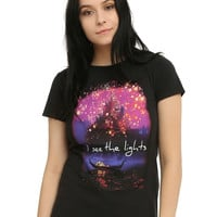 Disney Tangled Lanterns Scene Girls T-Shirt