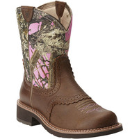 10015055 Ariat Women's Fatbaby Heritage Western from Bootbay, Internet's Best Selection of Work, Outdoor, Western Boots and Shoes.