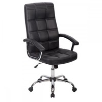 High Back Executive Office Chair Ergonomic Chair Computer Desk Chair Black 909