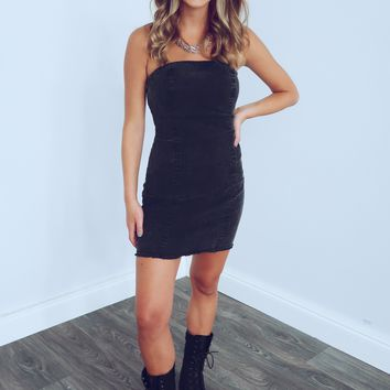 Time Of Your Life Dress: Black