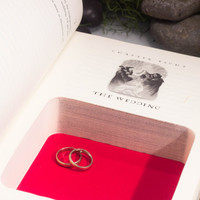 Hollow Book Safe Ring Bearer - Harry Potter and the Deathly Hallows (The Wedding)