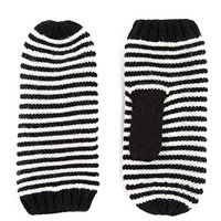 Color Block Knitted Mittens