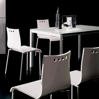 T270 Sunny CR Extendable Dining Table by Ozzio - 138