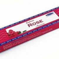 Supreme Rose Satya Incense Stick 15 G