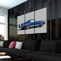 King of the Road Canvas Set