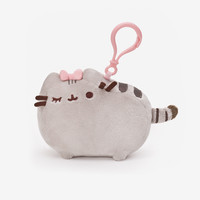 Pretty Pusheen clip-on plush