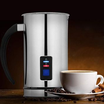 Chef's Star Automatic Milk Frother for Hot or Cold Milk Foam