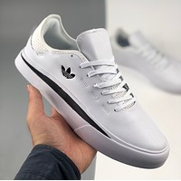 Adidas Samba OG clover low-top lace-up simple sneakers