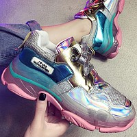 The new laser transparent soles are a hit shoes