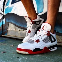 Air Jordan 4 Retro Fire Red