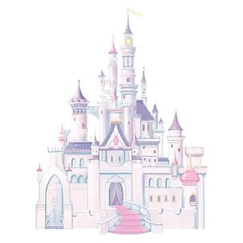 RoomMates Disney Princess - Princess Castle Peel and Stick Giant Wall Decal