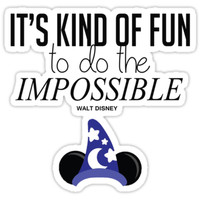 Impossible is Fun by mickeywaffles