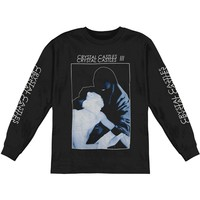 Crystal Castles Men's  Long-Sleeve 2013 Spring Tour Burka  Long Sleeve Black