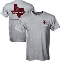 Texas A&M Aggies State of Mind T-Shirt – Gray