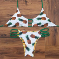 Reversible Pineapple Bikinis Swimsuit