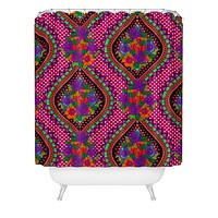 Aimee St Hill Ivy Pink Shower Curtain