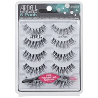 Ardell Wispies 5 Packs 68984 Black with Free Applicator