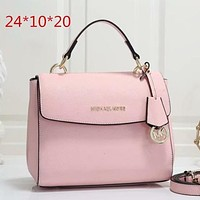 Women Leather Handbag Crossbody Satchel