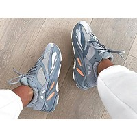 Bunchsun Adidas Yeezy 700 Boost New Sneakers Fashion Casual Women Men Running Reflective Dot Sport Shoes