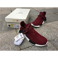 PW Human Race NMD Wine Red Shoes 40-46