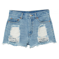 Monki | Destination vacay | Kelly Denim shorts