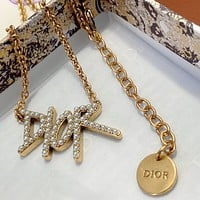 Dior Women's Fashion Accessories Fine Jewelry Ring & Chain Necklace & Earrings