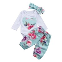 Floral Baby Girls Set