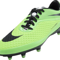 Nike Hypervenom Phelon FG Soccer Cleats - Neo Lime with Poison Green and Black - SoccerPro.com