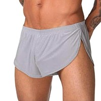 Breathable Polyester Short Sleep Wear Sexy Pajama Pants Unfortable Loose Underwear Casual Lounge for Mens