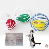 Fun Ball with Mouse Toy for Cats