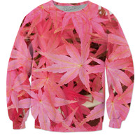 Pink Weed Sweater