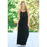 This Moment In Time Maxi-Black