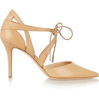 Jimmy Choo - Lusion leather pumps