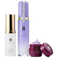 Skincare For Makeup Lovers - Instant Dewy Glow Set - Tatcha   Sephora