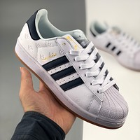 Adidas clover new product Superstar shell head low-top white shoes sneakers casual shoes