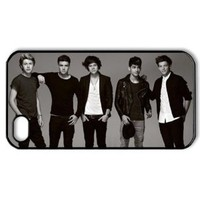 CTSLR Music & Singer Series Protective Hard Case Cover for iPhone 4 & 4S - 1 Pack - One Direction - We Are Together 9