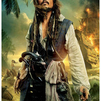 Pirates of the Caribbean On Stranger Tides Movie Poster 11x17