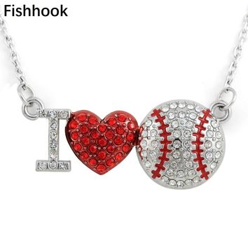 Large Softball Pitcher Custom Engraved You are more Loved Heart Locket Necklace