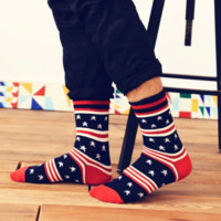 US National Flag-inspired Socks for Men