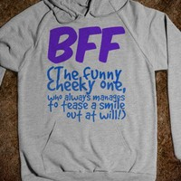 BFF - The Funny Cheeky One Who Always Manages to Tease Out a Smile - Connected Universe