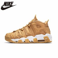 NIKE AIR MORE UPTEMPO '96 PRM Original Mens Basketball Shoes Breathable Hard Court Height Increasing Sneakers For Men Shoes