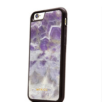 First Real Amethyst iPhone Case