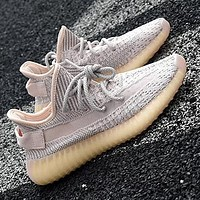 Adidas Yeezy Boost 350 V2 Women Men Sports Sneakers Fashion running shoes Khaki