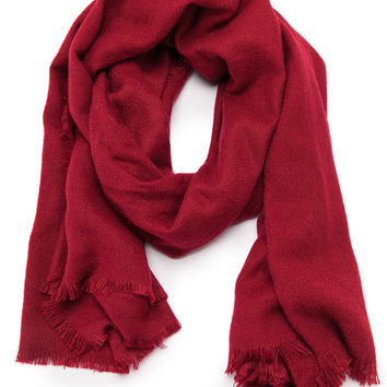 Oh My Love Red Scarf