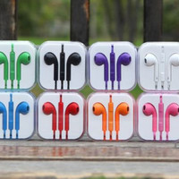 Universal Colorful Earbuds with Mic and Case