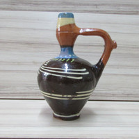 Bulgarian Decorative Ceramic Pitcher for Water, Handmade, Pottery Pitcher, Hand Painted, Gift Idea