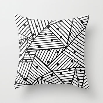 Abstract Spots Close Up Throw Pillow by Project M | Society6